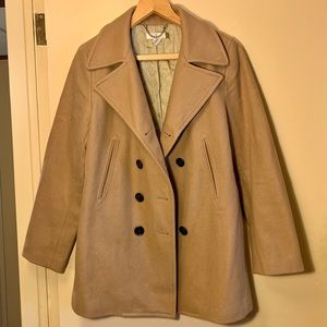 J. Crew wool pea coat with thinsulate lining
